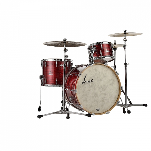 Sonor Vintage Red Oyster 22,13,16 shell set