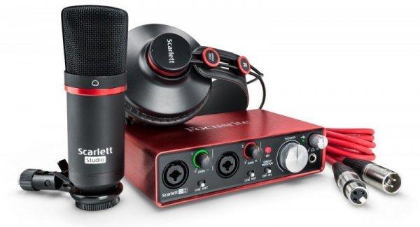 Focusrite Scarlett Studio Pack 2 generacja