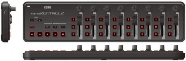 Korg nanoKONTROL 2 BK kontroler