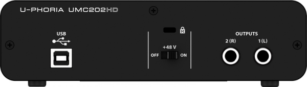 Behringer U-PHORIA UMC202HD interface