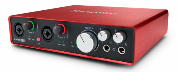Focusrite Scarlett 6i6 2 Gen interfejs audio