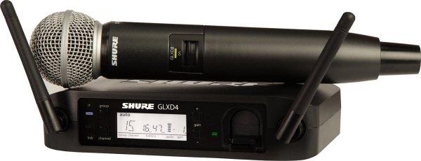 SHURE GLXD24E/SM58 cyfrowy system bezprzewodowy z mikrofonem SM58
