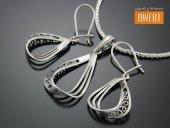 GIADA srebrny komplet biżuterii