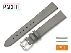 PACIFIC 16 mm pasek skórzany W86 szary