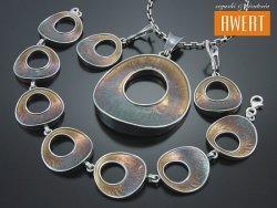 JOICO srebrny komplet biżuterii