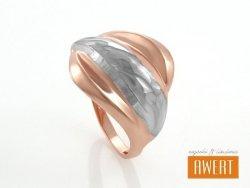ENAME srebrny pierścień roz.13