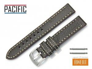 PACIFIC 18 mm pasek skórzany W22 brązowy