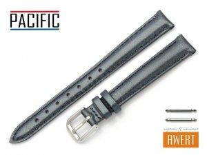 PACIFIC 12 mm pasek skórzany W114 granatowy perłowy