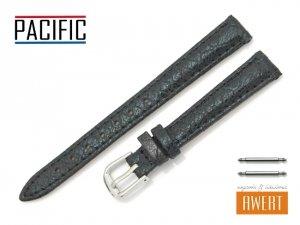 PACIFIC 12 mm pasek skórzany W123 czarny