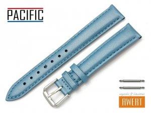 PACIFIC 16 mm pasek skórzany W114 niebieski perłowy