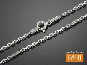 ANKIERKA łańcuszek srebrny diamentowany 45 cm / 2 mm