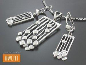 CATO srebrny komplet biżuterii