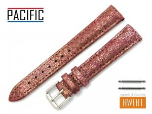 PACIFIC 16 mm pasek skórzany W123 bordowy