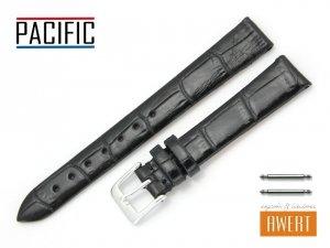 PACIFIC 14 mm pasek skórzany W09 czarny