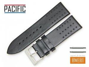 PACIFIC 26 mm pasek skórzany W38 czarny