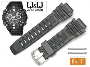 Q&Q GW88-001 GW87 M119 M133 oryginalny pasek 18 mm