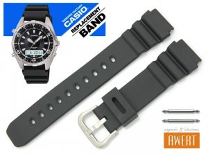 CASIO AMW-340-1A -9A oryginalny pasek 18 mm