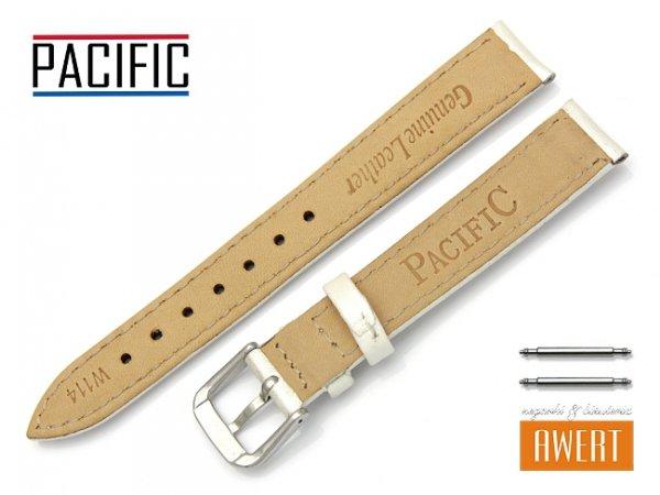 PACIFIC W114 pasek skórzany 16 mm ecru