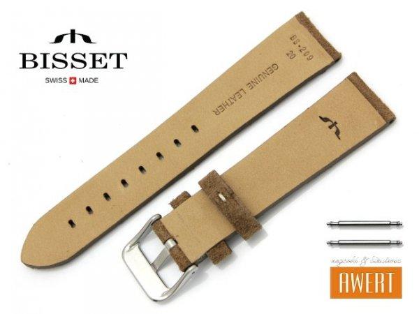 BISSET 20 mm pasek skórzany BS209