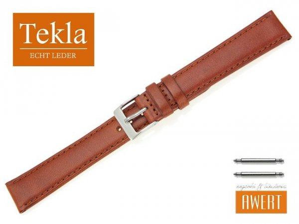 TEKLA 18 mm XL pasek skórzany PT68 brązowy