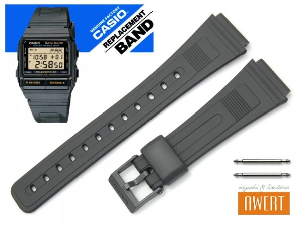 CASIO DB-53-1V DB-55W-1A DB-55W-1V DB-55W-9G  oryginalny pasek 70635749