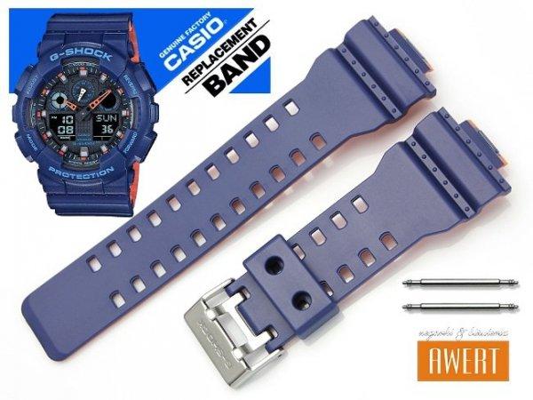 CASIO GA-100L -2A oryginalny pasek 16 mm 10527467