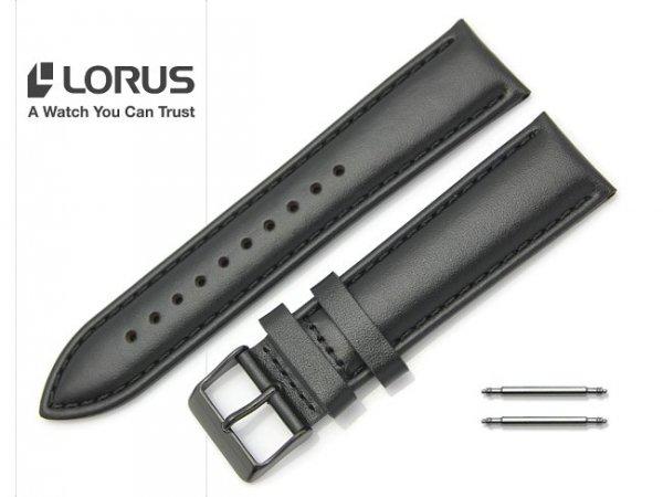 LORUS 22 mm oryginalny pasek 917719 czarny
