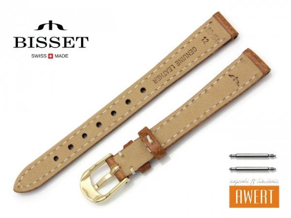 BISSET 12 mm pasek skórzany BS154