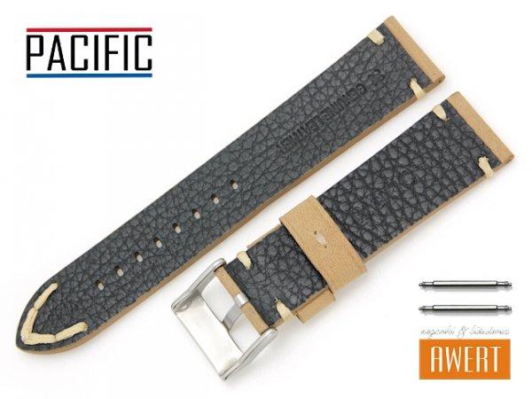 PACIFIC 22 mm pasek skórzany W93 brązowy W93-5WH-22