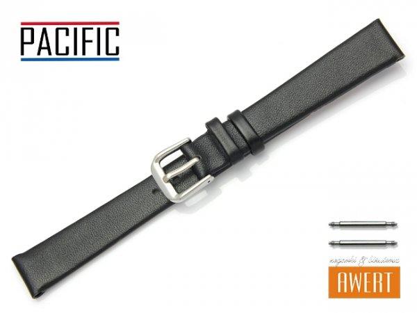 PACIFIC 14 mm pasek skórzany W86 czarny