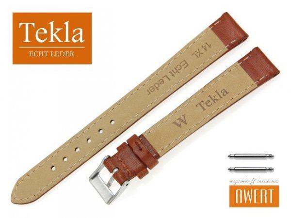 TEKLA 14 mm XL pasek skórzany PT68 brązowy