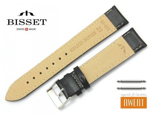 BISSET 20 mm pasek skórzany BS205