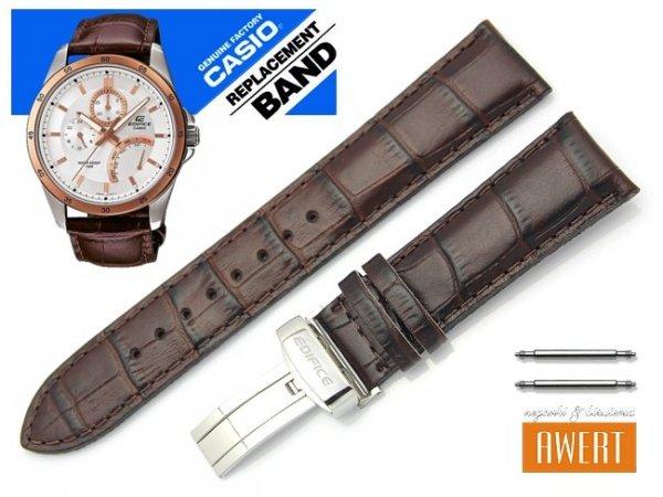 CASIO EF-341L-7A oryginalny pasek 22 mm 10396047