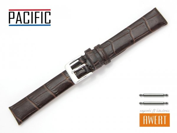 PACIFIC 16 mm pasek skórzany W09 brązowy