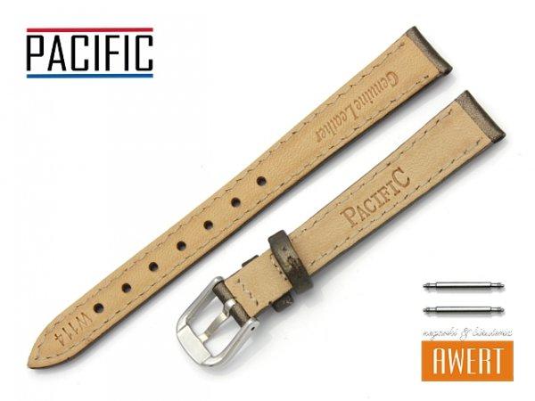 PACIFIC W114 pasek skórzany 12 mm brązowy