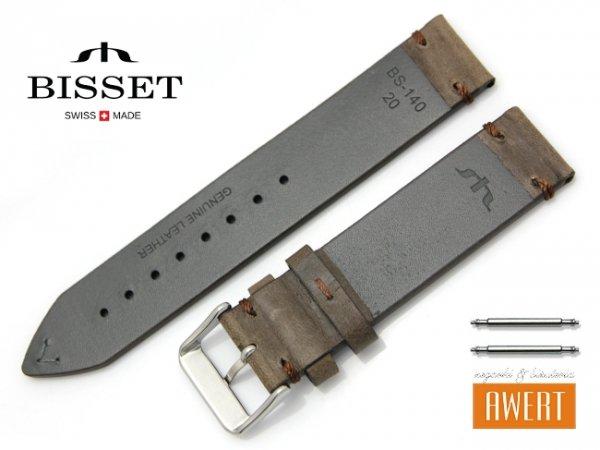 BISSET 20 mm pasek skórzany BS140