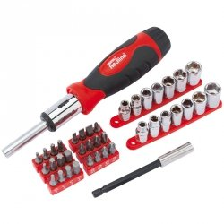 40pc r/drive & socket set