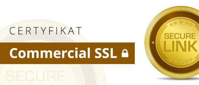 Certyfikat Commercial SSL
