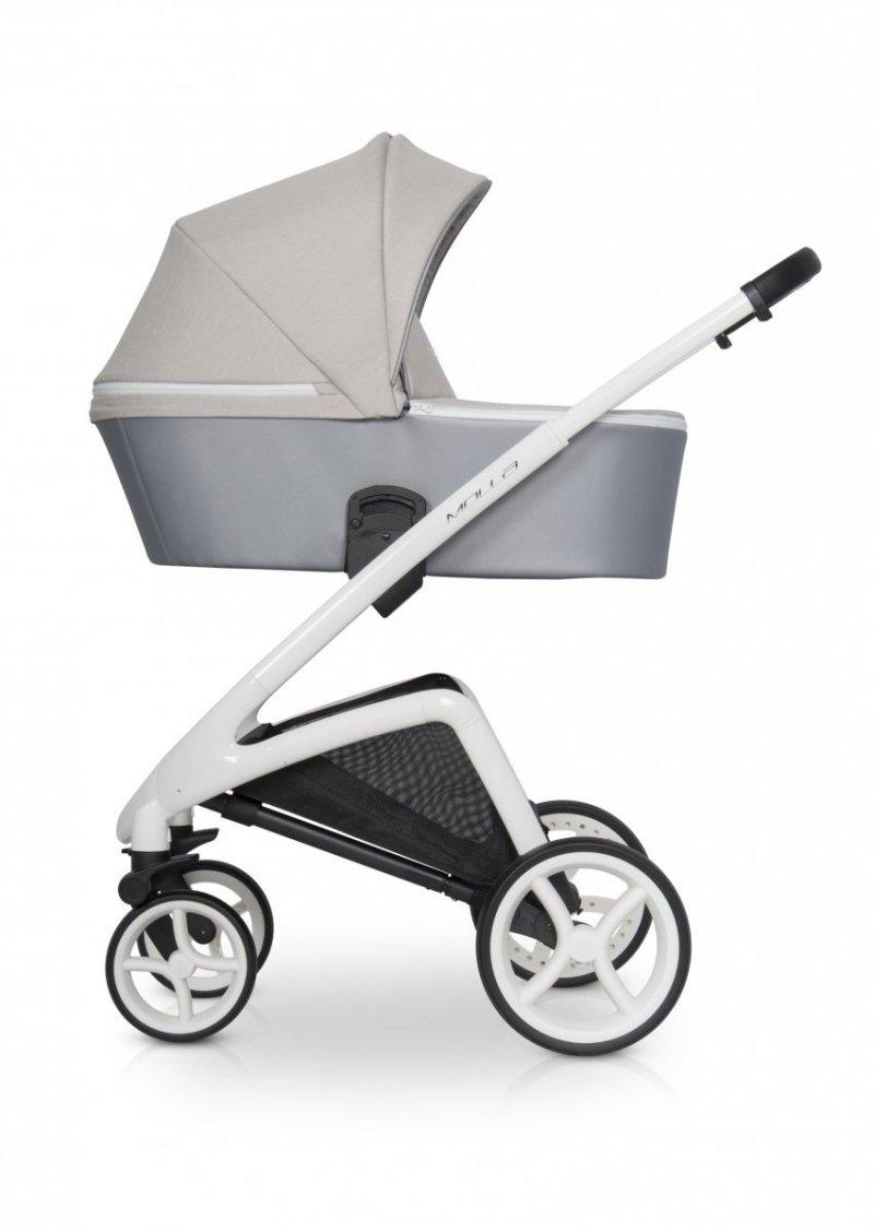 Wózek dziecięcy z samą gondolą Riko Molla 1w1 beżowy