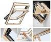 Dachfenster VELUX GLL 1055 Schwingfenster Holz-Fenster - Boden Griff - house-4u.eu