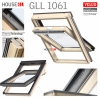 VELUX Dachfenster GLL 1061 3-fach-Verglasung Schwingfenster aus Holz mit Dauerlüftung ThermoTechnology1