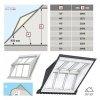 VELUX EBW 2022BK MK06 PK06 SK06 Kombi-Eindeckrahmen für gaubenähnliche Lösungen Aluminium VELUX Lichtlösung PANORAMA  Basiselement