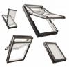 Dachfenster Roto Designo R7 Hoch-Schwingfenster R79 K 3-fach-Verglasung ENERGIE Kunststoff PVC mit Wärmedämmblock
