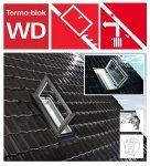 Ausstiegsfenster Roto WDA R35 K AL_ WD aus Kunstoff für nutzräume mit Wärmedämmblock