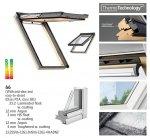 Dachfenster Velux GPL 3066 ENERGY-STAR das Holzfenster mit dem Riesen-Öffnungswinkel