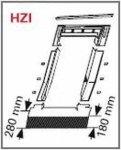 Eindeckrahmen Roto EDR HZI für hochprofilierte mit WD