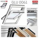 VELUX Dachfenster GLU 0061 3-fach-Verglasung Uw= 1,1 ENERGIE Schwingfenster Kunststoffqualität mit Dauerlüftung ThermoTechnology