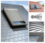 Außenrollladen Fakro ARZ Z-WAVE, Außenrollladen, Rollladen, Außenrollo, Automatische Rollladen, Aluminium