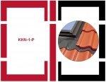 Eindeckrahmen Fakro KHN-1-P Modul für die Kombination übereinander für hochprofilierte Eindeckmaterialien