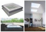 Flachdach-Fenster Fakro DMC-C P2 manuelle Steuerung U=1,2 W/m²K *